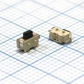 Кнопка 1,8х4,3х0,5мм H-клавиши=1,0мм 2 вывода SMD №10