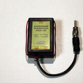 Антенный усилитель УКВ+FM (К.у.25dB) 12V с полосовым фильтром (Antex)