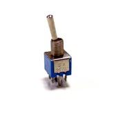 Тумблер SMTS-202 (I-O) (8x10мм) (6 конт.3А/125В)