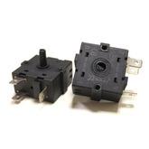 Переключатель режимов для масляных обогревателей 30х30мм, угол поворота 360°, 15A (3-х контактный)