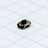 Кнопка 3,0х4,0х2,0мм H-клавиши=0,5мм 2 вывода (горизонтальная установка) №13 SMD