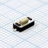 Кнопка 3,0х6,0х2,5мм H-клавиши=1,0мм 2 вывода (горизонтальная установка) IT-1181A SMD