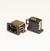 Разъём компьют: гнездо mini-USB 4pin, F4 на плату