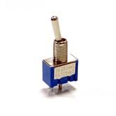 Тумблер MTS-101 (I-O) 2pin (6А 250В) (Daier, кач-во!)