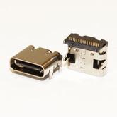 Разъём компьют: гнездо Type-C USB 16pin USB 3.1 на плату