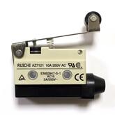 Концевик (53x27мм) AZ-7121 (планка 48мм с роликом) (2конт 250В/10A), 61781