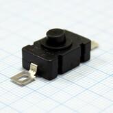 Кнопка 28х12, 2 вывода с фиксацией KAN-28