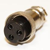Разъём MIC16 3pin гнездо на кабель (7А,125В)