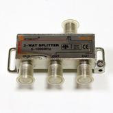 Разветв. на 3 ТВ 5-1000 МГц APA-227 (с проходом питания на 1выход)