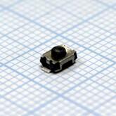 Кнопка 3,0х4,0х2,0мм H-клавиши=1,0мм 2 вывода (горизонтальная установка) K-10 SMD