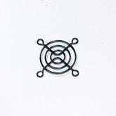 Решётка вентилятора: 50х50мм (метал, хром) FG-05