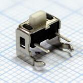 Кнопка 3,0х6,0х5,0мм H-клавиши=1,0мм 2 вывода (вертикальная установка) IT-1101VA