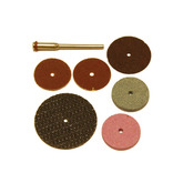 Диски: для резки и шлифовки (7 предметов) со штифтом-3,17мм №31