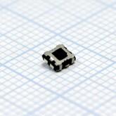Кнопка 3,2х4,2х1,0мм H-клавиши=1,0мм 4 вывода (горизонтальная установка) SMD