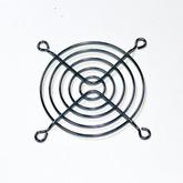 Решётка вентилятора: 80х80мм (метал, хром) FG-08