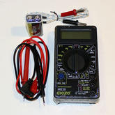 Прибор цифровой (тестер) M 838 ФAZA