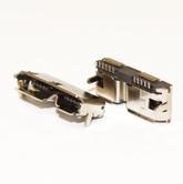 Разъём компьют: гнездо micro-USB 10pin (3.0) на плату