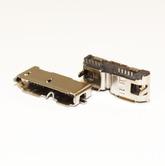 Разъём компьют: гнездо mini-USB 14pin, на плату