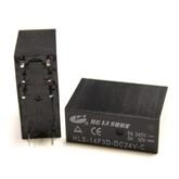 Реле HLS-14F3L (DC24V-5A-2C) 29x12,6x20,6 контакты под пайку