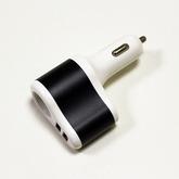 Питание: (АЗУ) Штекер прикуривателя на 2 USB (5V, 2,1A; 1,0A) + гнездо прикуривателя