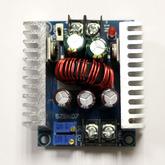 [027]  Модуль: DC/DC пониж.; вх. 6,0-40V - вых. 1,25-36V, с регул. тока до 20А