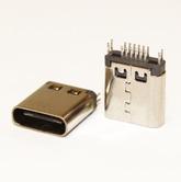 Разъём компьют: гнездо Type-C USB 2x8pin USB 3.1 на плату