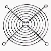 Решётка вентилятора: 120х120мм (металл, хром) FPG-12
