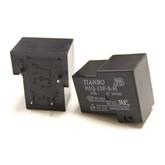 Реле HJQ-15F-S-H/HLS-T90 (15F) (DC24V-25A-1A) 32x27x19, 5 контактов (Tianbo) контакты под пайку