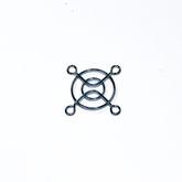 Решётка вентилятора: 40х40мм (метал, хром) SM7240A