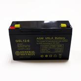 [011]  Аккум 6V / 12,0AH (151 x 51 x 100) General Security (made in Vietnam)