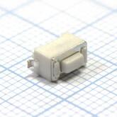 Кнопка 3,0х6,0х4,3мм H-клавиши=1,0мм 2 вывода (вертикальная установка) IT-1101NE SMD