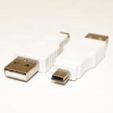 Переход-USB; шт-USB A х шт-mini B 5p пластик 6-092/18-1174