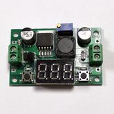 [017]  Модуль: DC/DC пониж.; вх. 3,0-40V - вых. 1,3-35V, до 2А с LED вольтм. (на LM2596)