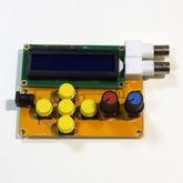Генератор сигналов до 8 МГц, функциональный с ЖК экраном и корпусом