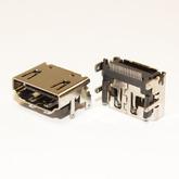 Разъём компьют: гнездо HDMI-19-02F, на плату, SMD