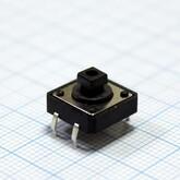 Кнопка 12х12х3,5мм H-клавиши=4мм 4 вывода (горизонтальная установка) KAN1210