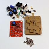 Генератор аналоговых функцион.сигналов чип XR2206 (синус/треугольник/меандр) 1Гц - 1МГц, конструктор