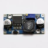 [015]  Модуль: DC/DC пониж.; вх. 4,0-35V - вых. 1,3-30V, до 3А (на LM2596) 100507