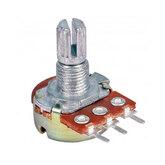 [004]  Резистор перем. (потенц) d=17мм; 0,5кОм 3 выв. (M7, Dвал-6мм, L-13мм)