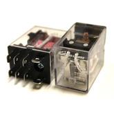 Реле HLS-13F1 (AC240V-20A-1C) 8к 27x22x35 контакты под колодку